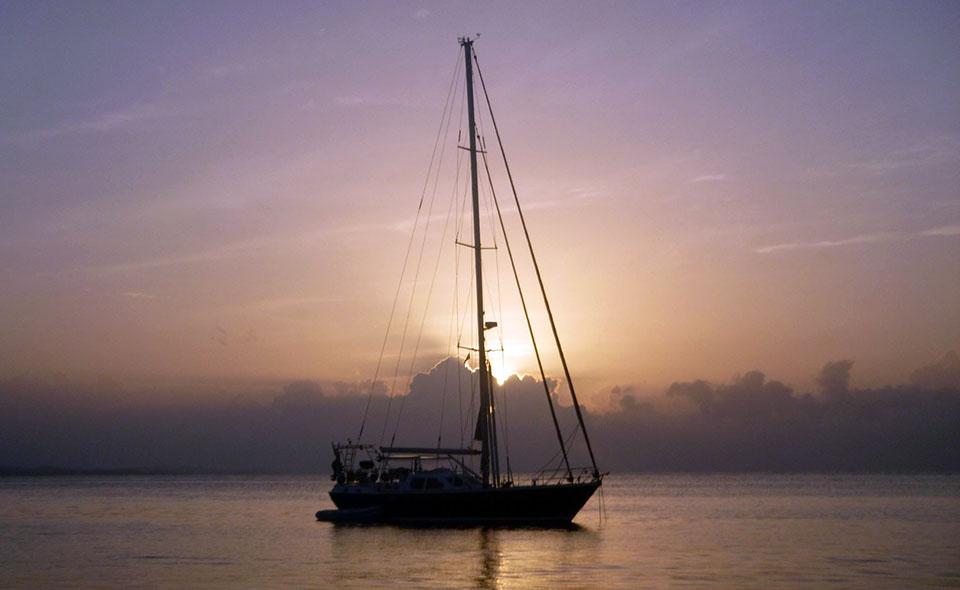 Barca a vela americana