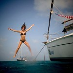 Barca a vela San Blas